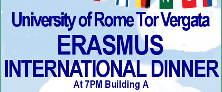 Erasmus International Dinner 2017