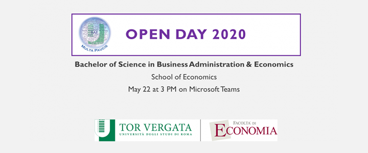BSc in Business Administration & Economics Open Day Online