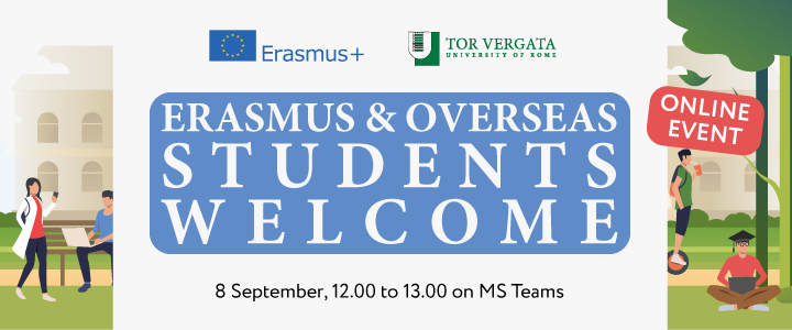 erasmus and overseas students welcome