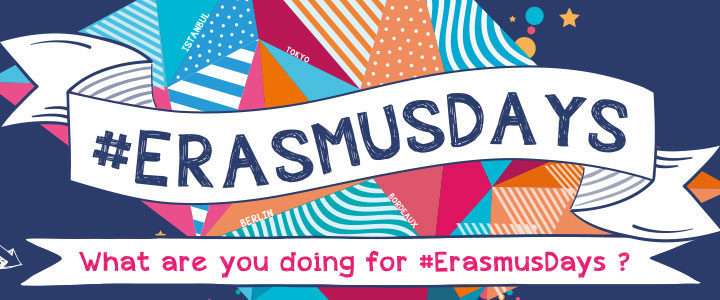 Erasmus Days 2021: Share your Erasmus+ experience and join the Instagram contest