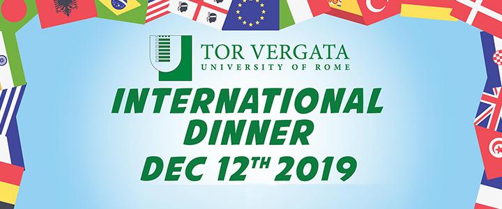 International Dinner 2019
