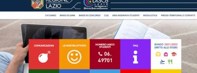 Lazio Disco scholarship application guide