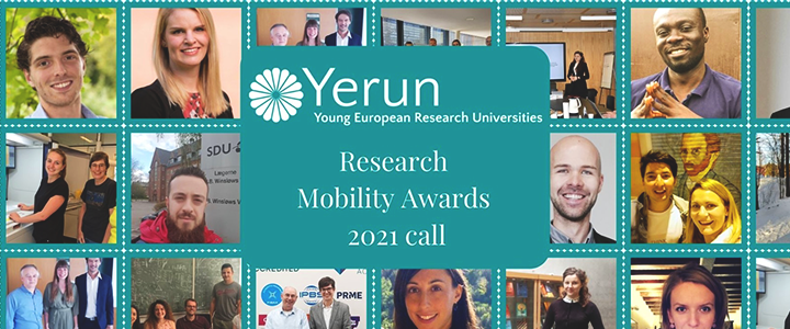 Yerun research mobility awards